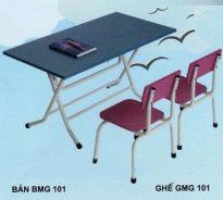 Bộ bàn ghếmẫu giáo GMG101B+ BMG101B
