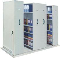 Tủ hồ sơ di động Hòa Phát có bộ điều khiển chuyển động MCF2
