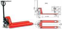 Xe nâng tay Hand Pallet Truck HPT-H50