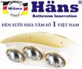 Đèn sưởi 3 bóng Häns H3B110