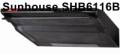 Hút mùi Sunhouse vỏ sơn SHB6116B
