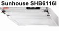 Hút mùi Sunhouse vỏ Inox SHB6116I