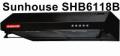 Hút mùi Sunhouse vỏ sơn SHB6118B
