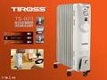Máy sưởi dầu Tiross-TS923 ,9 thanh, 2000W
