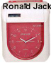 Máy chấm công thẻ giấy RONALD JACK  RJ-3300A