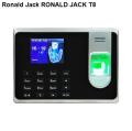 Máy chấm công vân tay+thẻ RONALD JACK T8