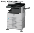 Máy photocopy SHARP MX-M315N