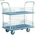 Xe đẩy hàng lưới 2 tầng Thái Lan Jumbo HL120M (tải trọng 150kg)