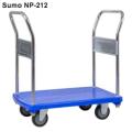 Xe đẩy hàng sàn nhựa SUMO Nhật Bản NP-212