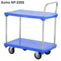 Xe đẩy hàng sàn nhựa SUMO Nhật Bản NP-220S