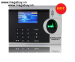 Máy chấm công vân tay+ thẻ RONALD JACK 4000TID-C
