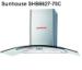 Máy hút mùi kính cong Sunhouse SHB6627-70C