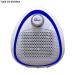 Quạt sưởi gốm Ceramic mini FujiE CH-202 Blue - Màu trắng viền xanh nước biển