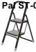 Thang ghế bản to PAL ST-02 - 2 bậc