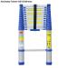 Thang nhôm rút gọn đơn Advindeq ADT212B (màu xanh)