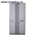 Tủ lạnh Sharp SJF78SPSL - 625 lít - 4 cửa - thép không gỉ