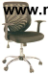 Ghế xoay lưới, lưng trung, chân mạ GX07-M