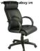 Ghế xoay da lưng cao chân nhựa GX201A-N