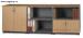 Bộ tủ thấp Fami SM-6X20FH-MB