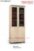 Tủ cao cánh kính Fami SM8350H-PO